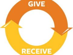 give and recieve